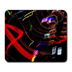 Night View Night Chaos Line City Large Mousepads