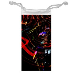 Night View Night Chaos Line City Jewelry Bag by Amaryn4rt