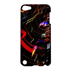 Night View Night Chaos Line City Apple Ipod Touch 5 Hardshell Case by Amaryn4rt