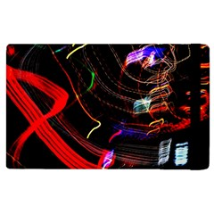 Night View Night Chaos Line City Apple Ipad 2 Flip Case