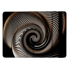 Abstract Background Curves Samsung Galaxy Tab Pro 12 2  Flip Case by Amaryn4rt