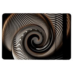 Abstract Background Curves Ipad Air Flip by Amaryn4rt