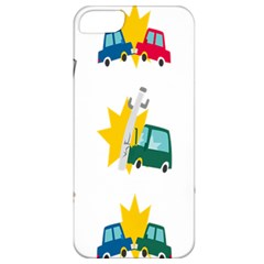 Accident Crash Car Cat Animals Apple Iphone 5 Classic Hardshell Case