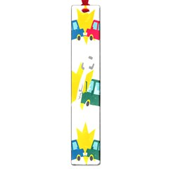 Accident Crash Car Cat Animals Large Book Marks