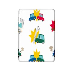 Accident Crash Car Cat Animals Ipad Mini 2 Hardshell Cases