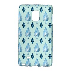 Ace Hibiscus Blue Diamond Plaid Triangle Galaxy Note Edge