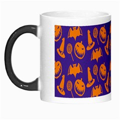 Witch Hat Pumpkin Candy Helloween Purple Orange Morph Mugs