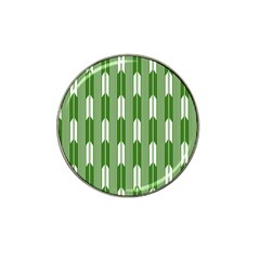 Arrows Green Hat Clip Ball Marker (4 Pack)