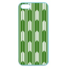 Arrows Green Apple Seamless Iphone 5 Case (color)