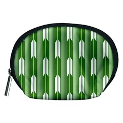 Arrows Green Accessory Pouches (medium)
