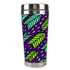 Arrows Purple Green Blue Stainless Steel Travel Tumblers