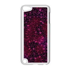 Retro Flower Pattern Design Batik Apple Ipod Touch 5 Case (white) by Amaryn4rt