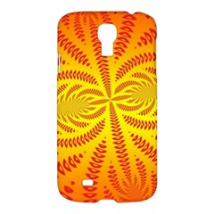 Background Brush Particles Wave Samsung Galaxy S4 I9500/i9505 Hardshell Case by Amaryn4rt