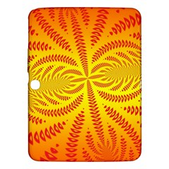 Background Brush Particles Wave Samsung Galaxy Tab 3 (10 1 ) P5200 Hardshell Case