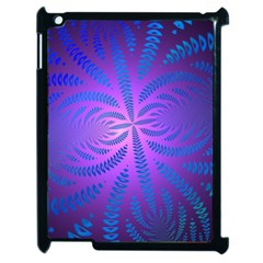 Background Brush Particles Wave Apple Ipad 2 Case (black) by Amaryn4rt