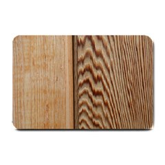 Wood Grain Texture Brown Small Doormat  by Amaryn4rt