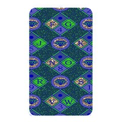 African Fabric Number Alphabeth Diamond Memory Card Reader