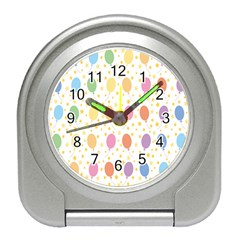 Balloon Star Color Orange Pink Red Yelllow Blue Travel Alarm Clocks