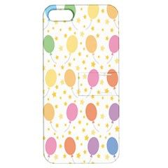 Balloon Star Color Orange Pink Red Yelllow Blue Apple Iphone 5 Hardshell Case With Stand