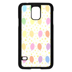 Balloon Star Color Orange Pink Red Yelllow Blue Samsung Galaxy S5 Case (black) by Alisyart