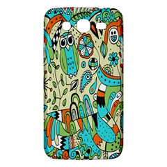 Animals Caterpillar Worm Owl Snake Leaf Flower Floral Samsung Galaxy Mega 5 8 I9152 Hardshell Case