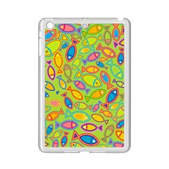 Animals Fish Green Pink Blue Green Yellow Water River Sea Ipad Mini 2 Enamel Coated Cases