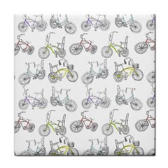 Bicycle Bike Sport Tile Coasters
