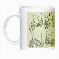 Bicycle Bike Sport Night Luminous Mugs