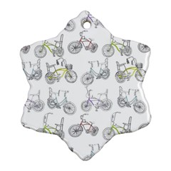 Bicycle Bike Sport Ornament (snowflake)