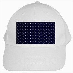 Blue Star White Cap