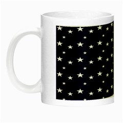 Blue Star Night Luminous Mugs