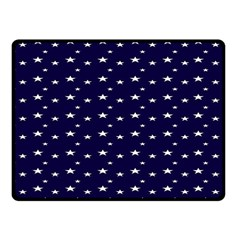Blue Star Fleece Blanket (small)
