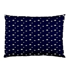 Blue Star Pillow Case (two Sides)