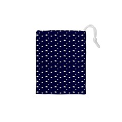 Blue Star Drawstring Pouches (xs)  by Alisyart