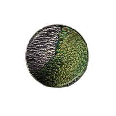 Bird Feathers Green Brown Hat Clip Ball Marker (4 Pack) by Alisyart