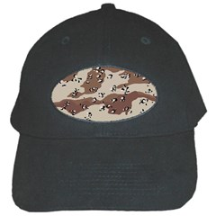 Camouflage Army Disguise Grey Brown Black Cap
