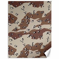 Camouflage Army Disguise Grey Brown Canvas 36  X 48   by Alisyart