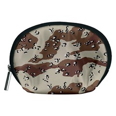 Camouflage Army Disguise Grey Brown Accessory Pouches (medium)