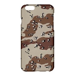 Camouflage Army Disguise Grey Brown Apple Iphone 6 Plus/6s Plus Hardshell Case