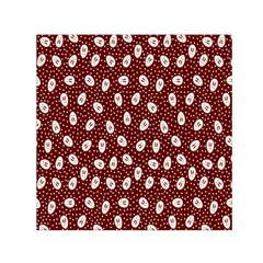 Animals Rabbit Kids Red Circle Small Satin Scarf (square)