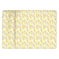 Branch Spring Texture Leaf Fruit Yellow Samsung Galaxy Tab 10 1  P7500 Flip Case