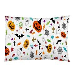 Candy Pumpkins Bat Helloween Star Hat Pillow Case (two Sides) by Alisyart