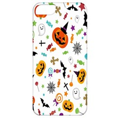 Candy Pumpkins Bat Helloween Star Hat Apple Iphone 5 Classic Hardshell Case