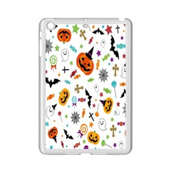Candy Pumpkins Bat Helloween Star Hat Ipad Mini 2 Enamel Coated Cases