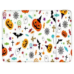 Candy Pumpkins Bat Helloween Star Hat Samsung Galaxy Tab 7  P1000 Flip Case