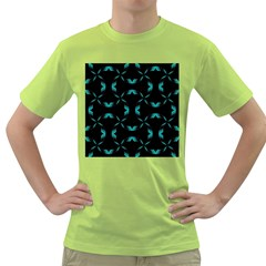 Chevron Blue Wave Green T-shirt