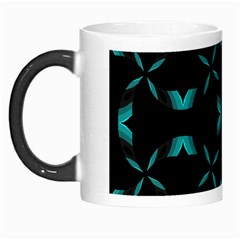 Chevron Blue Wave Morph Mugs