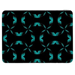 Chevron Blue Wave Samsung Galaxy Tab 7  P1000 Flip Case