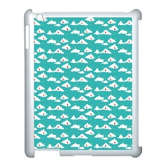 Cloud Blue Sky Sea Beach Bird Apple Ipad 3/4 Case (white)