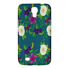 Caterpillar Flower Floral Leaf Rose White Purple Green Yellow Animals Samsung Galaxy Mega 6 3  I9200 Hardshell Case by Alisyart